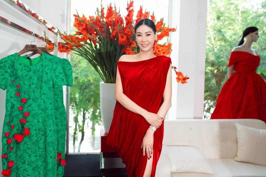 Đỗ Mỹ Linh, Lương Thuỳ Linh đọ sắc với váy áo nóng bỏng  - ảnh 13
