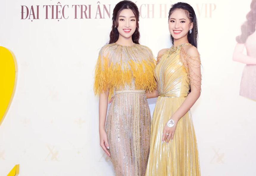 Người đẹp Thể thao Phù Bảo Nghi diện váy xẻ táo bạo, Lương Thùy Linh quấn khăn làm váy - ảnh 5