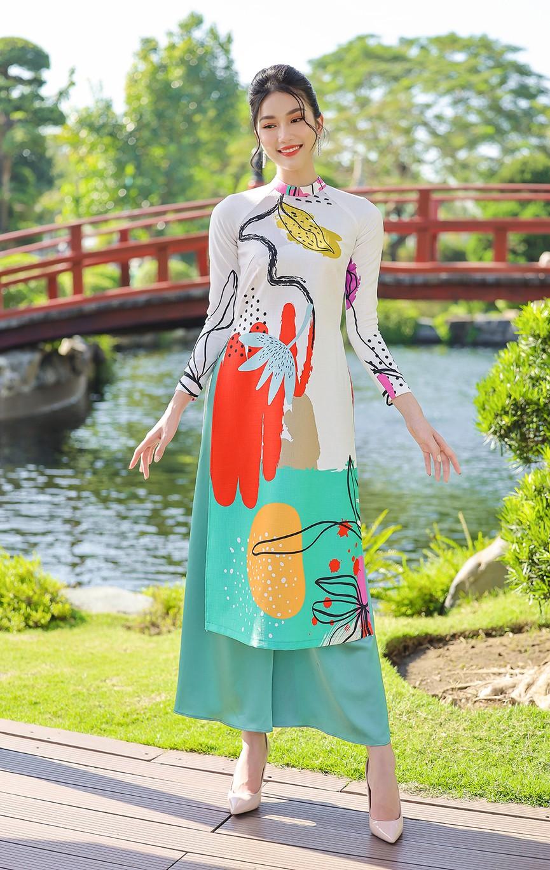 Á Hậu Phương Anh - Ngọc Thảo khoe trọn thần thái xinh đẹp, yêu kiều với áo dài Tết  - ảnh 6