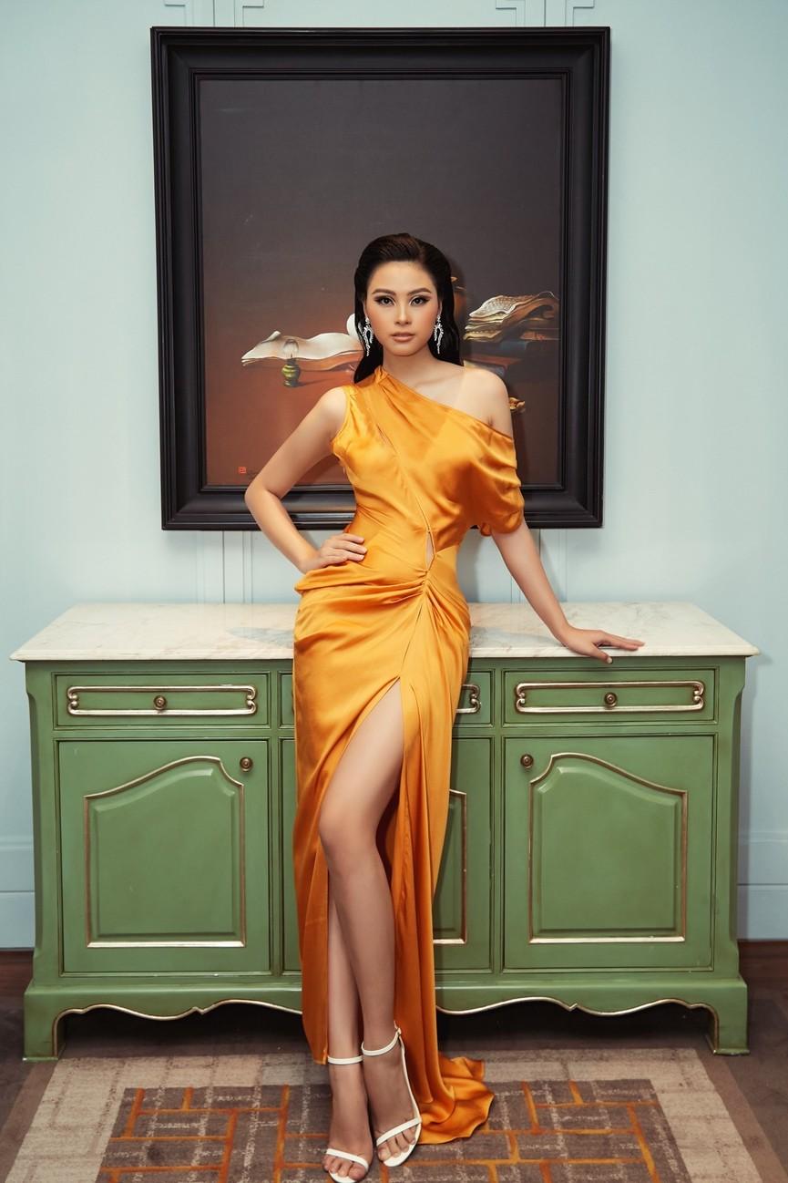 Gu thời trang 'thăng hạng' đầy nóng bỏng của Người đẹp Biển Đào Thị Hà  - ảnh 10