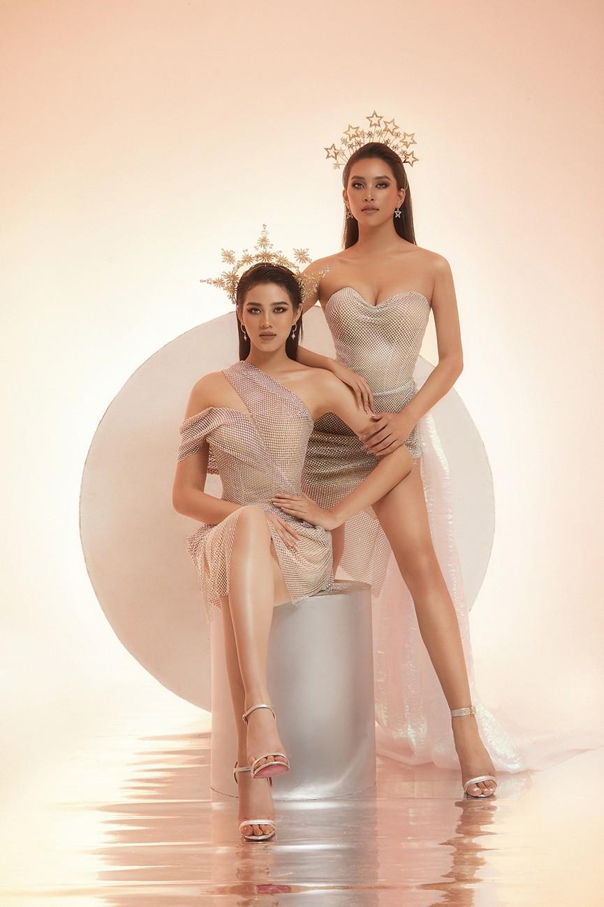Lần đầu đọ sắc cùng đàn chị Tiểu Vy, Hoa hậu Đỗ Thị Hà khoe body cực nóng bỏng  - ảnh 6