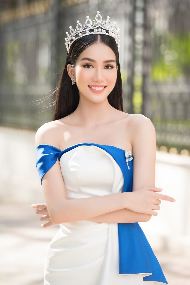 Á hậu Phương Anh được dự đoán lọt top 10 tại Hoa hậu Quốc tế 2021 - ảnh 2