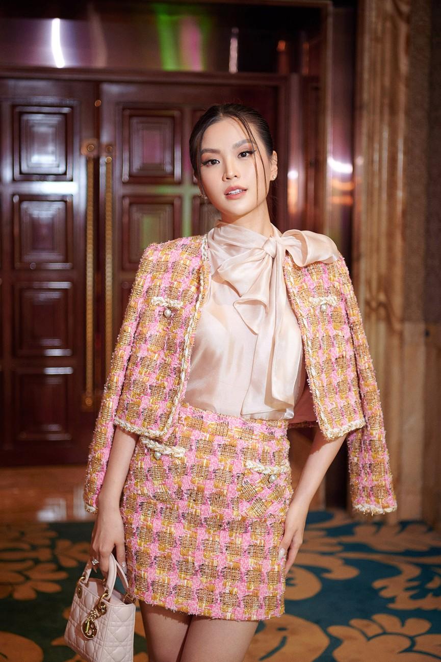 Dàn Hoa hậu, Á hậu đọ sắc vóc nóng bỏng trong đám cưới Á hậu Thuý An  - ảnh 8