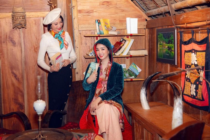 Á hậu Phương Anh đẹp tựa nàng thơ, Ngọc Thảo lên đồ sang chảnh uống cafe trong khu cách ly - ảnh 11