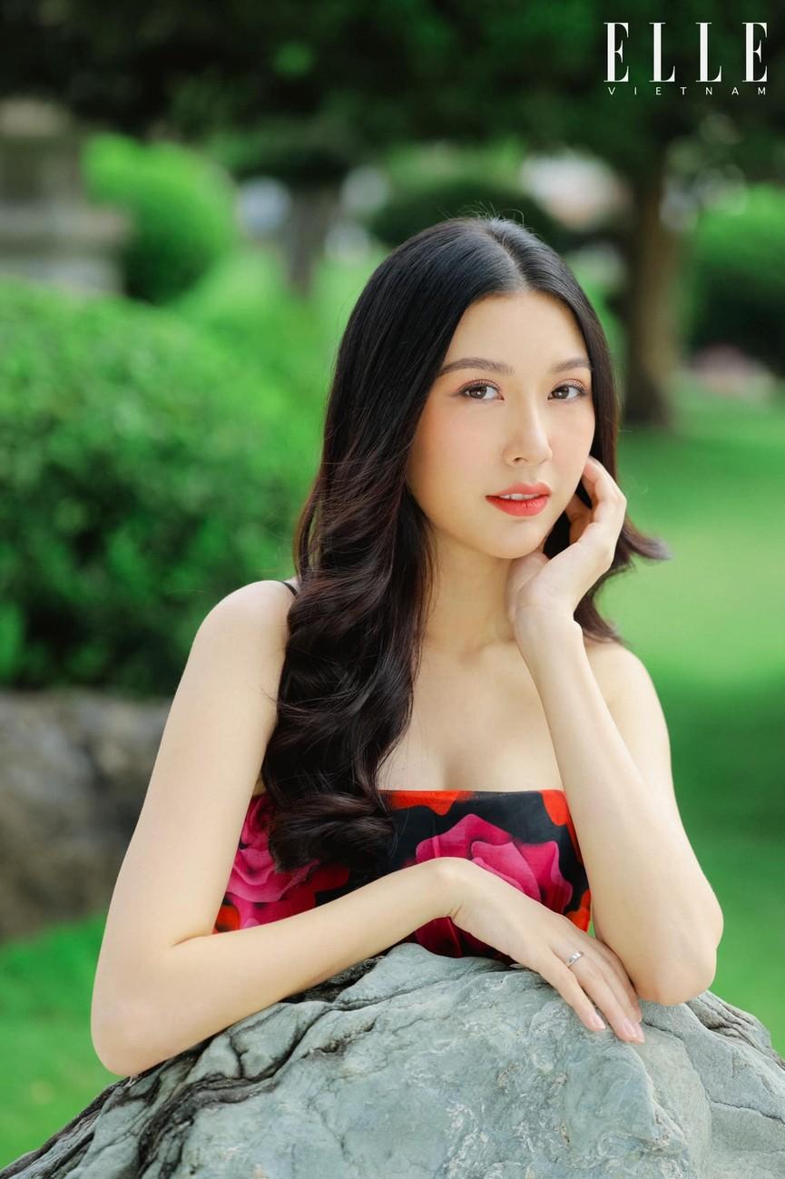 Á hậu Phương Anh, Hoa hậu Khánh Vân cùng 'gây bão' trên Missosology với vẻ gợi cảm - ảnh 5