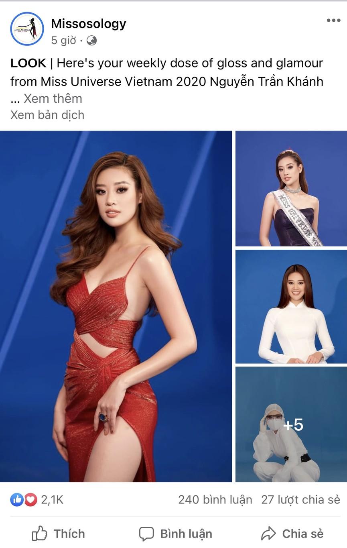Á hậu Phương Anh, Hoa hậu Khánh Vân cùng 'gây bão' trên Missosology với vẻ gợi cảm - ảnh 2