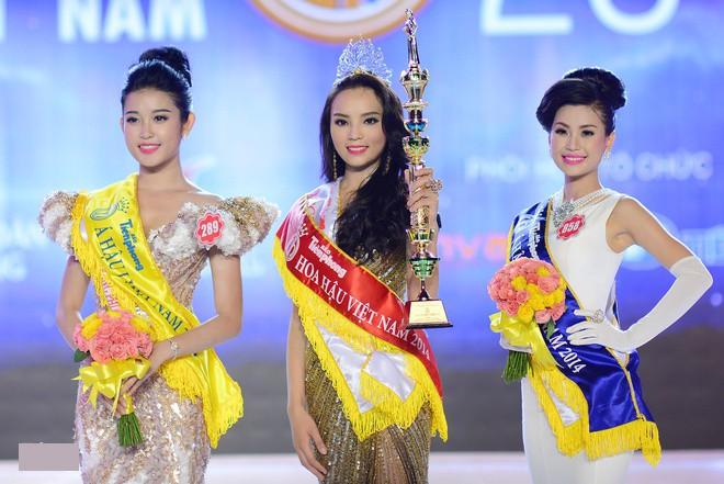 Hai người đẹp hiếm hoi giành giải 'Mặc trang phục dạ hội đẹp nhất' tại Hoa hậu Việt Nam - ảnh 11