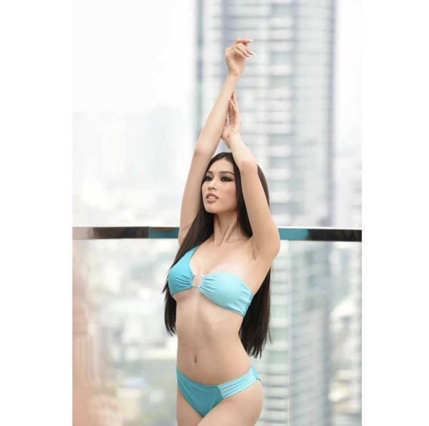 Ngắm body của á hậu Ngọc Thảo trong màn trình diễn áo tắm 'gây bão' ở Miss Grand  - ảnh 8