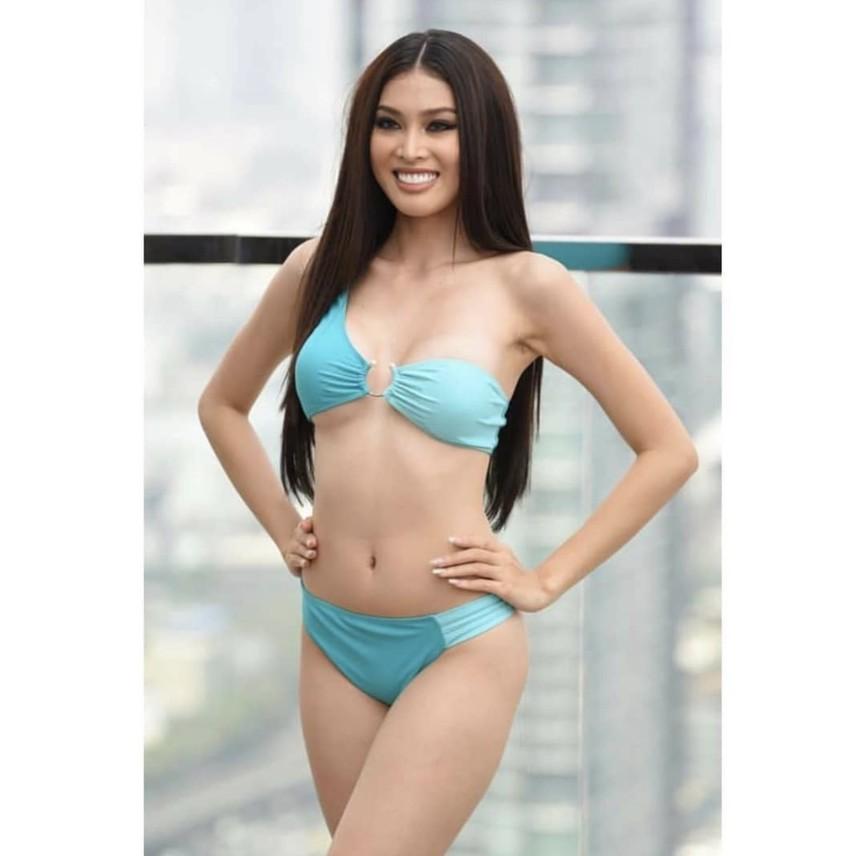 Ngắm body của á hậu Ngọc Thảo trong màn trình diễn áo tắm 'gây bão' ở Miss Grand  - ảnh 2