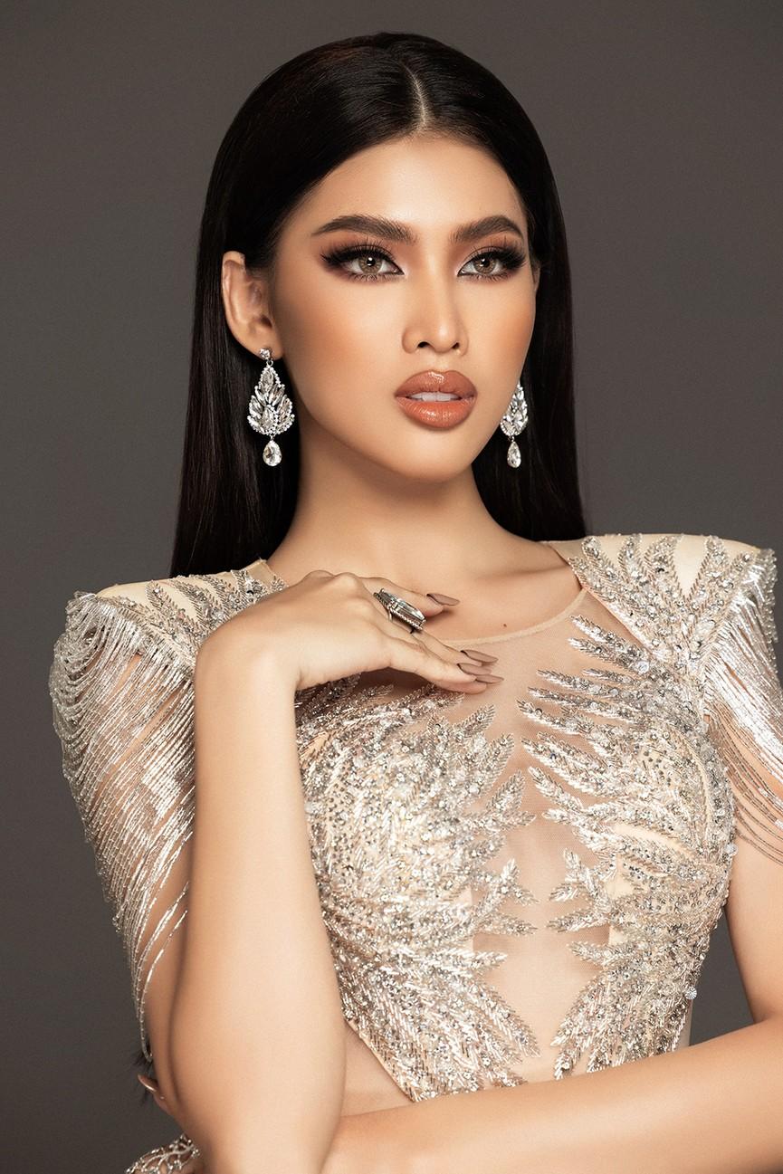 Lộ diện váy dạ hội mang thông điệp hòa bình của Ngọc Thảo tại bán kết Miss Grand - ảnh 6