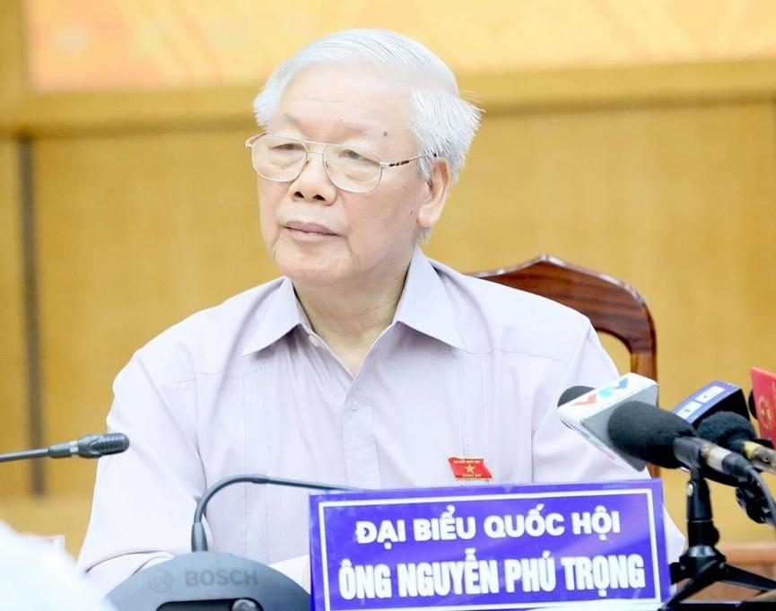 Tổng Bí thư, Chủ tịch nước tiếp xúc cử tri trước kỳ họp thứ 8, Quốc hội khóa XIV - ảnh 7