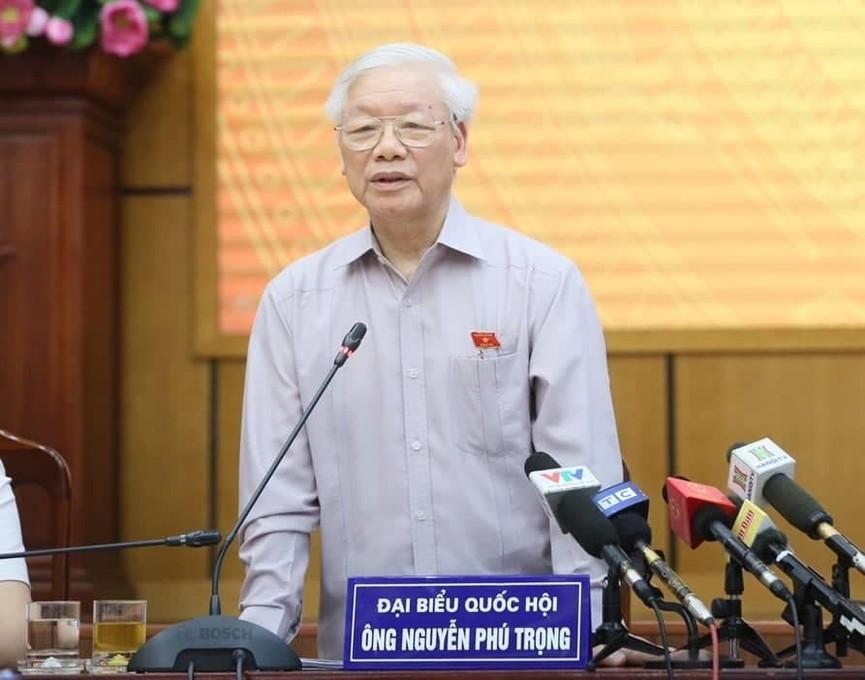 Tổng Bí thư, Chủ tịch nước tiếp xúc cử tri trước kỳ họp thứ 8, Quốc hội khóa XIV - ảnh 5