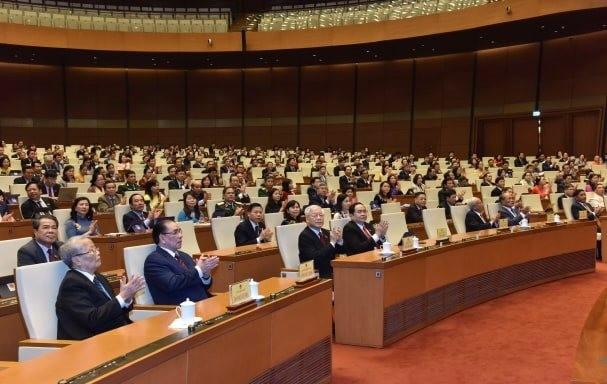 Hình ảnh lễ bế mạc Kỳ họp thứ 8, Quốc hội khóa XIV - ảnh 4