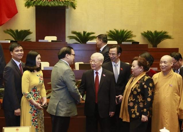 Hình ảnh lễ bế mạc Kỳ họp thứ 8, Quốc hội khóa XIV - ảnh 7