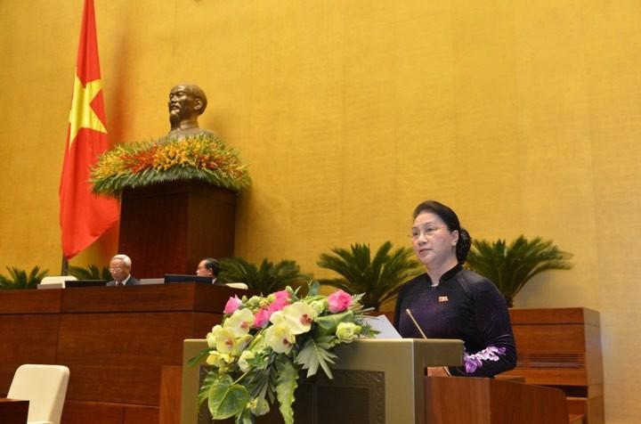 Hình ảnh lễ bế mạc Kỳ họp thứ 8, Quốc hội khóa XIV - ảnh 5