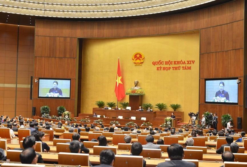 Hình ảnh lễ bế mạc Kỳ họp thứ 8, Quốc hội khóa XIV - ảnh 6