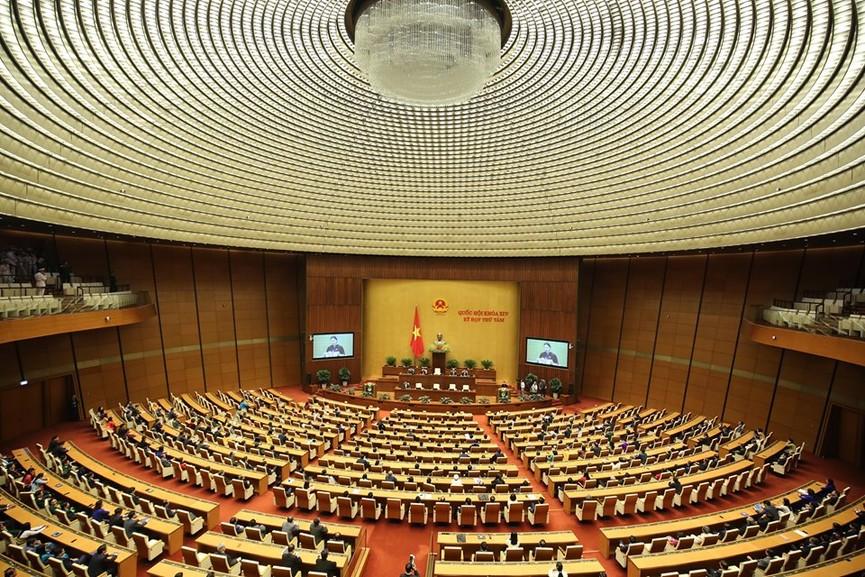 Hình ảnh lễ bế mạc Kỳ họp thứ 8, Quốc hội khóa XIV - ảnh 3
