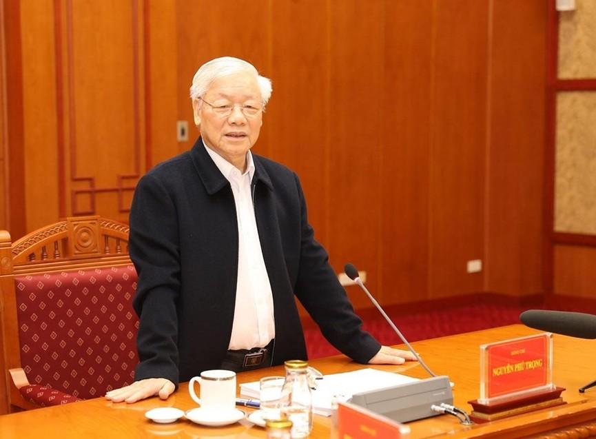 Tổng Bí thư, Chủ tịch nước chủ trì phiên họp về phòng chống tham nhũng - ảnh 4