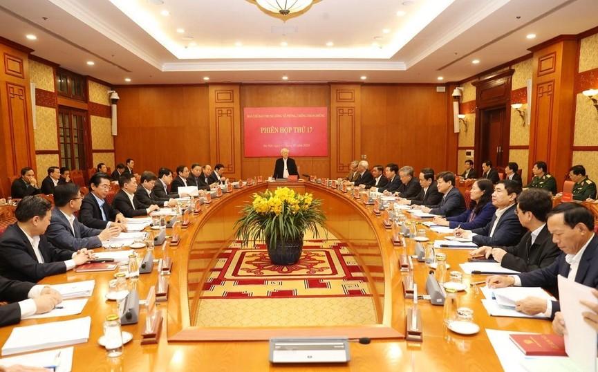 Tổng Bí thư, Chủ tịch nước chủ trì phiên họp về phòng chống tham nhũng - ảnh 6