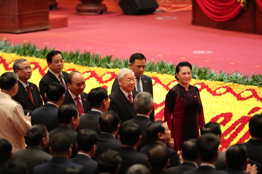 Tổng Bí thư, Chủ tịch nước cùng các đại biểu trong phiên họp trù bị Đại hội XIII của Đảng - ảnh 4