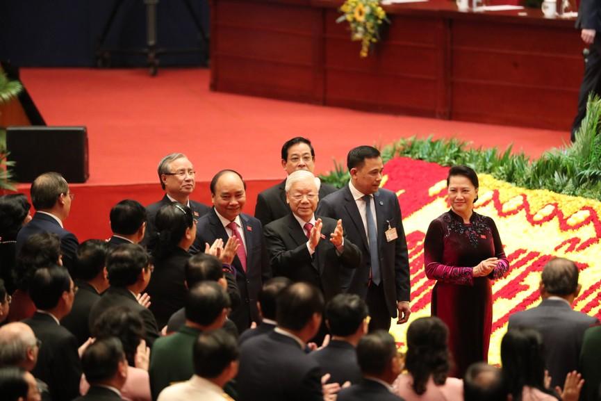 Tổng Bí thư, Chủ tịch nước cùng các đại biểu trong phiên họp trù bị Đại hội XIII của Đảng - ảnh 3