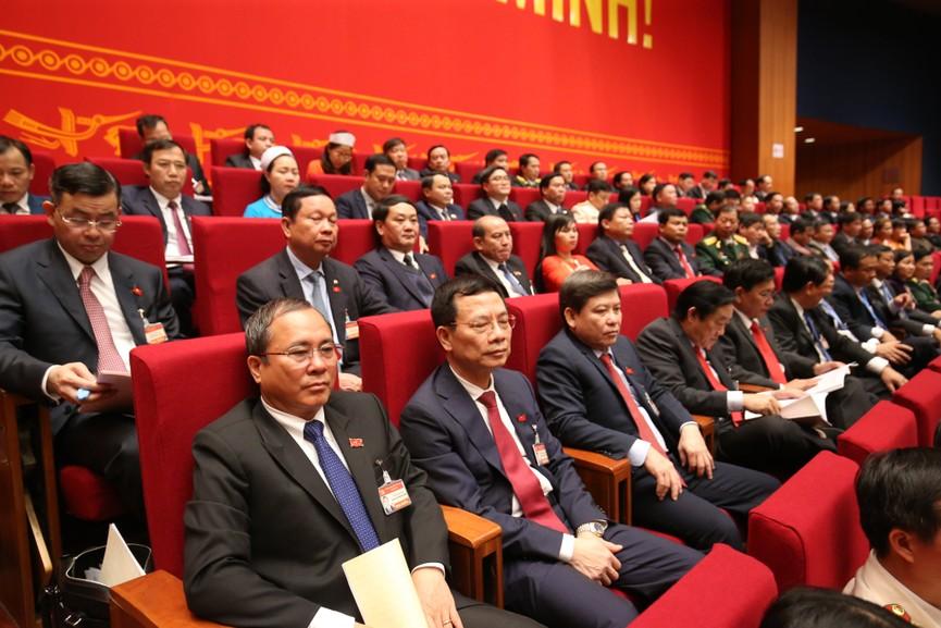 Tổng Bí thư, Chủ tịch nước cùng các đại biểu trong phiên họp trù bị Đại hội XIII của Đảng - ảnh 5