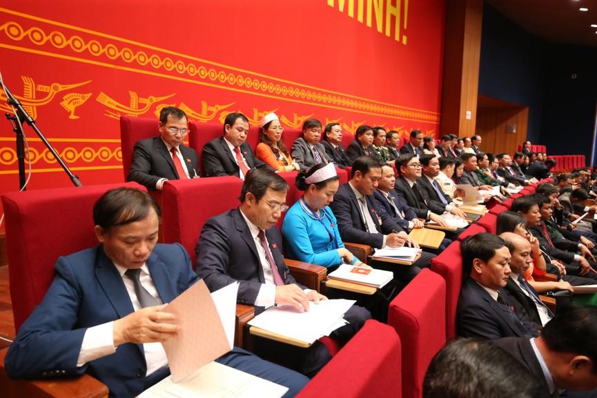 Tổng Bí thư, Chủ tịch nước cùng các đại biểu trong phiên họp trù bị Đại hội XIII của Đảng - ảnh 6