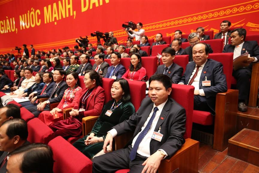 Tổng Bí thư, Chủ tịch nước cùng các đại biểu trong phiên họp trù bị Đại hội XIII của Đảng - ảnh 7