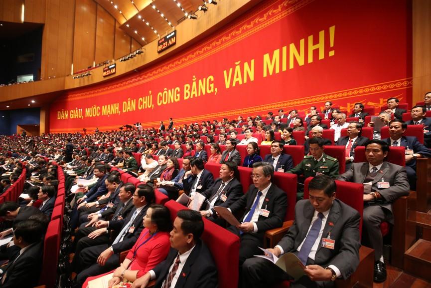 Tổng Bí thư, Chủ tịch nước cùng các đại biểu trong phiên họp trù bị Đại hội XIII của Đảng - ảnh 8