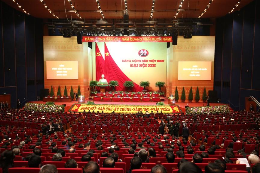 Tổng Bí thư, Chủ tịch nước cùng các đại biểu trong phiên họp trù bị Đại hội XIII của Đảng - ảnh 10