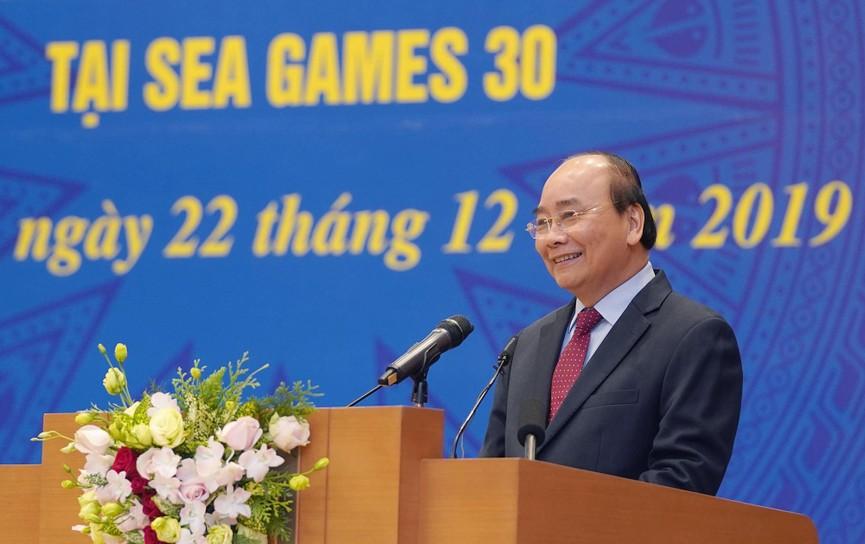 Thủ tướng gặp mặt, vinh danh VĐV, HLV đạt thành tích cao tại SEA Games 30 - ảnh 2