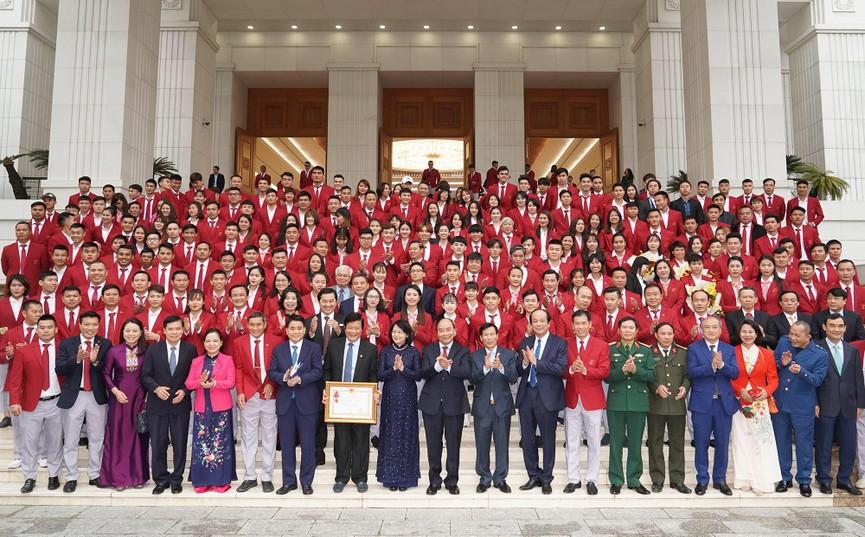 Thủ tướng gặp mặt, vinh danh VĐV, HLV đạt thành tích cao tại SEA Games 30 - ảnh 5