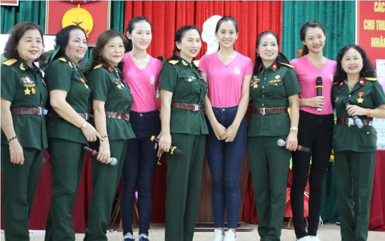 Thí sinh HHVN tri ân thương binh, cựu chiến binh Thanh Hóa  - ảnh 14