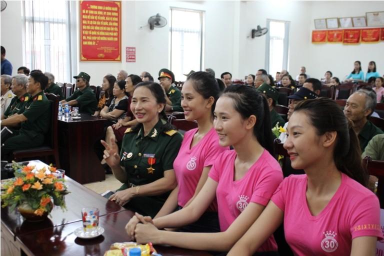 Thí sinh HHVN tri ân thương binh, cựu chiến binh Thanh Hóa  - ảnh 5