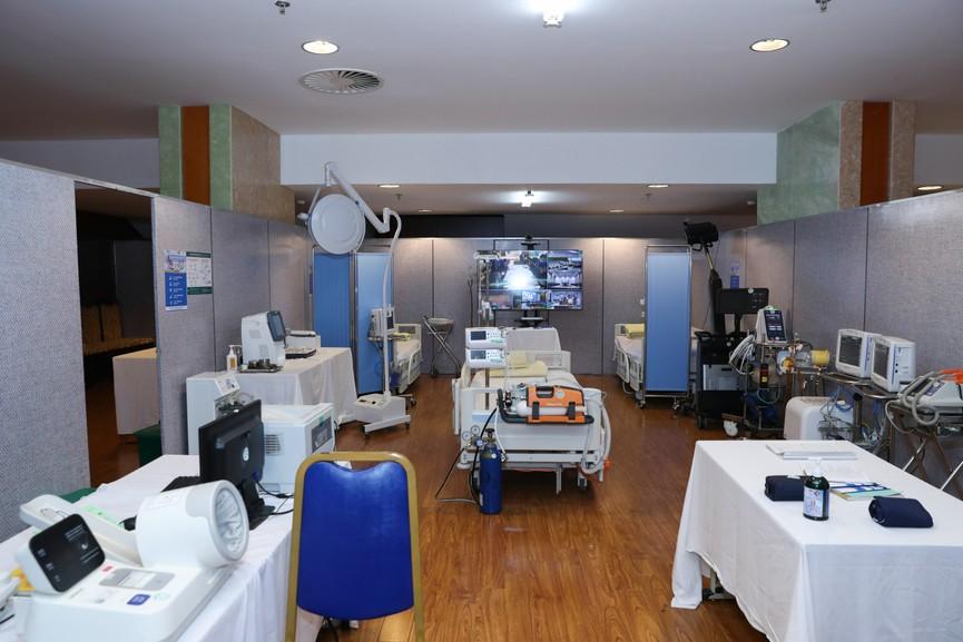 Phòng chăm sóc đặc biệt phục vụ Đại hội lần thứ XIII của Đảng - ảnh 6