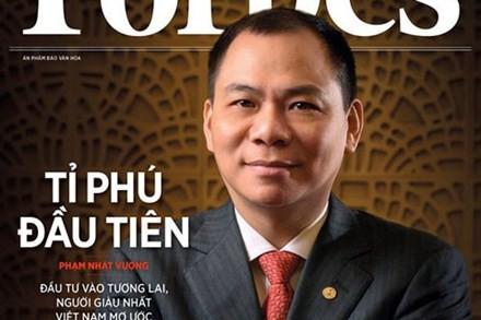 Đại gia Việt đồng loạt đón mưa tiền