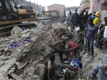 Nigeria, Sập nhà, Lagos