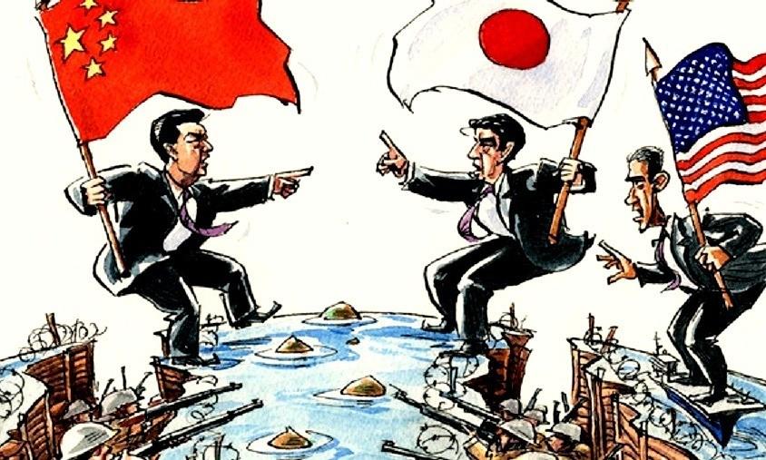 Tranh chấp Trung-Nhật và ván bài của Mỹ