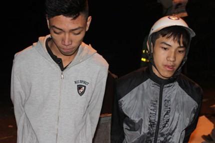 Cướp gần 'chốt' 141, hai thanh niên bị tóm gọn
