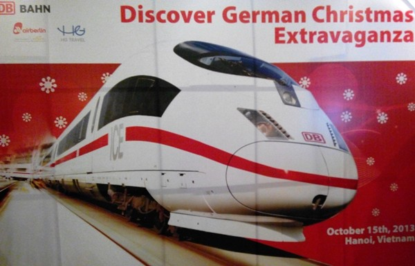 Đức và châu Âu giới thiệu tàu điện tại Hà Nội