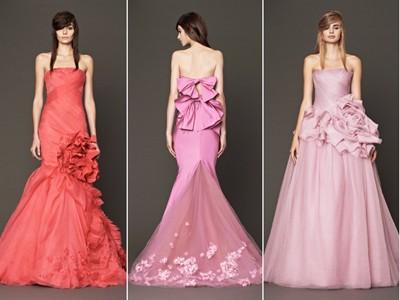 Váy cưới ngọt ngào cho mùa thu