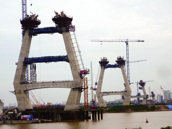 Dự án cầu Nhật Tân - Hà Nội: Tất cả gói thầu đều phải điều chỉnh
