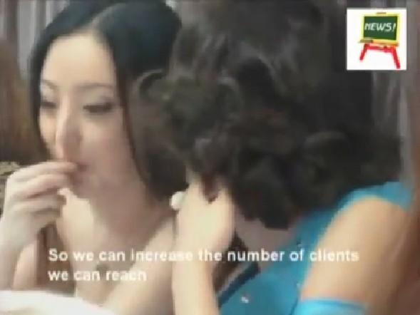 Rò rỉ clip dạy gái mại dâm Trung Quốc kiếm tiền?