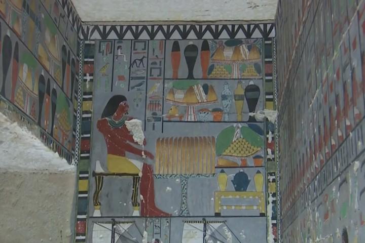 Ai Cập mở cửa lăng mộ hơn 4.000 năm tuổi