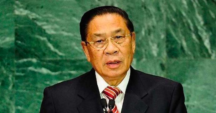 Nguyên Tổng bí thư, Chủ tịch nước Lào Choummaly Sayasone. (Ảnh: Alchetron)