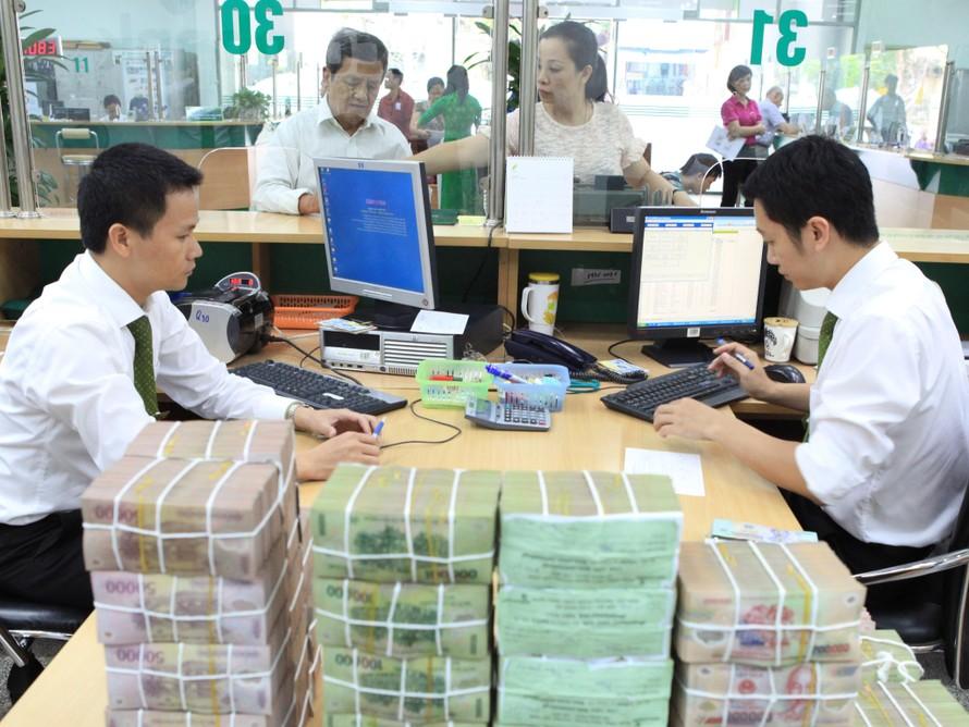 Lãi suất cao tren 8,5% chỉ dành cho khoản tiền gửi trên 500 tỷ với kỳ hạn dài tại một số nhà băng