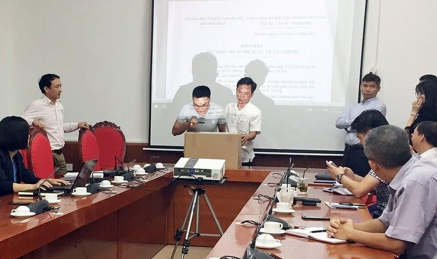 Sở GD&ĐT Hà Nội mở gói thầu tài chính chương trình Sữa học đường.