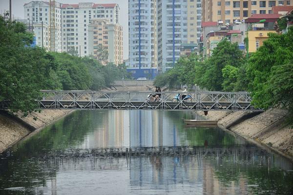 Hà Nội lập đề án 'hồi sinh' sông Kim Ngưu