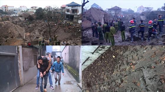 Camera nhà dân ghi cảnh đạn bay như mưa vụ nổ kinh hoàng ở Bắc Ninh