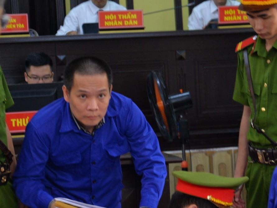 Bị cáo Phan Tiến Diện tại tòa.